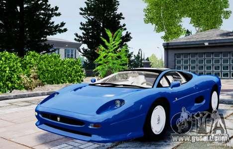 Jaguar XJ 220 for GTA 4