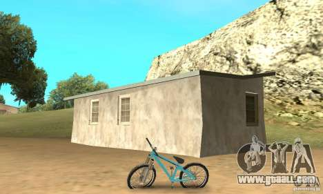Dirt Jump Bike for GTA San Andreas back left view
