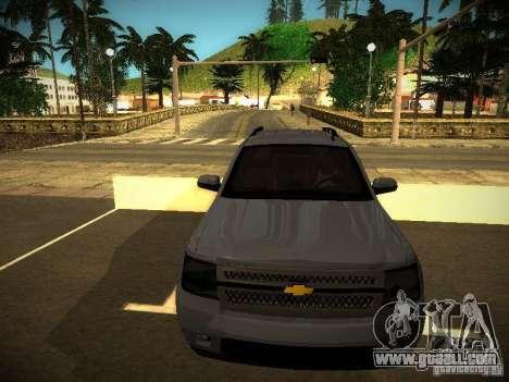 Chevrolet Tahoe HD Rimz for GTA San Andreas left view