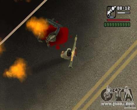 Real Ragdoll Mod Update 2011.09.15 for GTA San Andreas forth screenshot