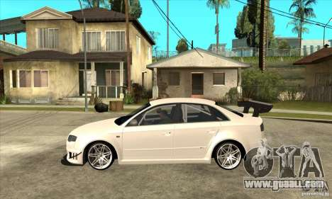 Audi RS4 2006 for GTA San Andreas left view