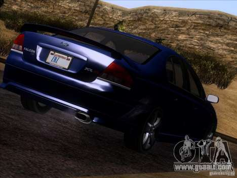 Ford Falcon for GTA San Andreas left view