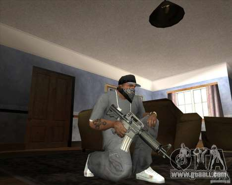 Jarra Mono Arsenal v1.2 for GTA San Andreas eleventh screenshot