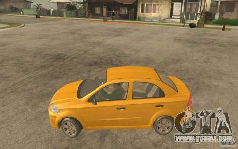 Chevrolet Aveo 2007 final for GTA San Andreas