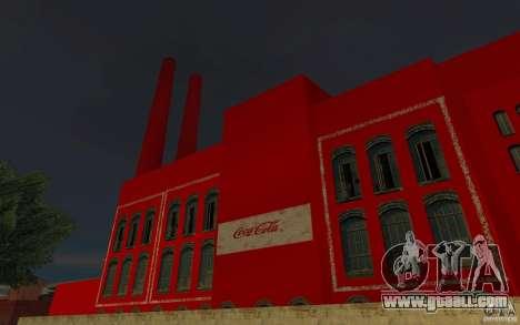 The Coca-cola Factory for GTA San Andreas second screenshot