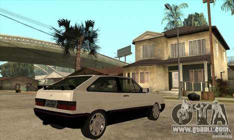 VW Gol GTS 1989 for GTA San Andreas right view