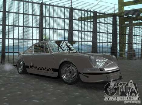 Porsche Carrera RS for GTA San Andreas back left view