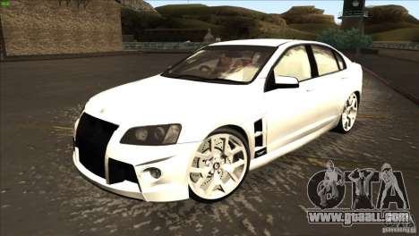 Holden HSV W427 for GTA San Andreas left view