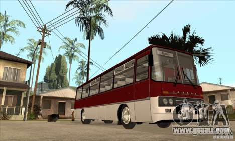 IKARUS 250.14 for GTA San Andreas back view