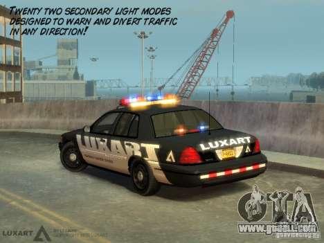 EMERGENCY LIGHTING SYSTEM V6 for GTA 4 fifth screenshot