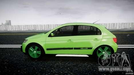 Volkswagen Gol Rallye 2012 v2.0 for GTA 4 left view