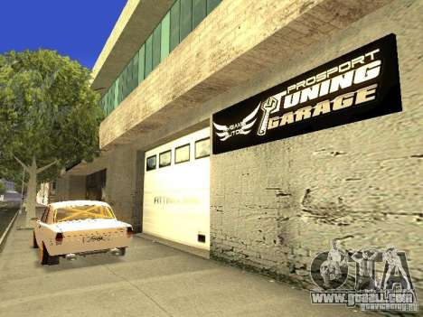 [HD] Network Of Garages MyGame Autos for GTA San Andreas forth screenshot