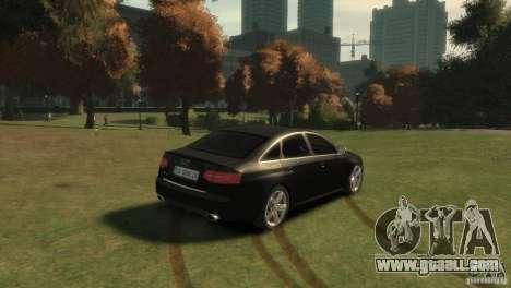 Audi RS6 v.1.1 for GTA 4 back left view