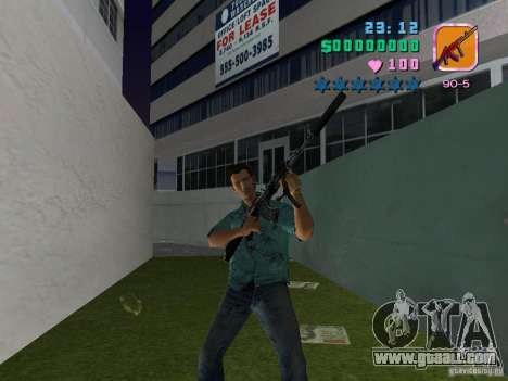 AK-103 for GTA Vice City third screenshot