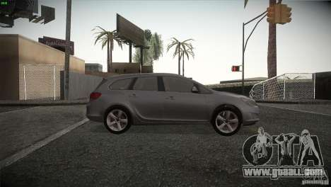 Opel Astra 2010 for GTA San Andreas back view