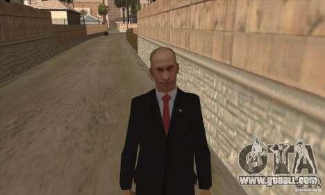 Vladimir Vladimirovich Putin for GTA San Andreas