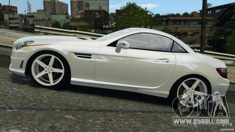 Mercedes-Benz SLK 2012 v1.0 [RIV] for GTA 4 left view