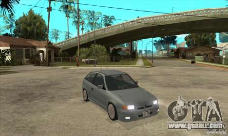 Opel Astra GSI 1993 Stock for GTA San Andreas back view