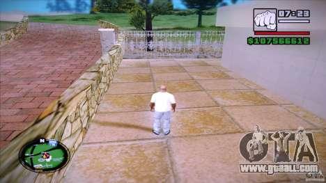 HUD by Mr.Shadow for GTA San Andreas second screenshot