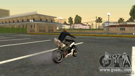 Yamaha YZF-R6 Street Fighter for GTA San Andreas left view