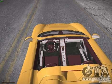 Porsche Carrera GT for GTA San Andreas right view