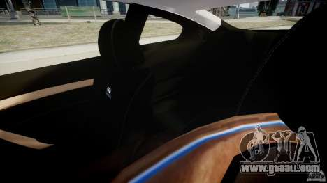 Infiniti G37 Coupe Sport for GTA 4 inner view