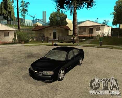 2003 Chevrolet Impala SS for GTA San Andreas