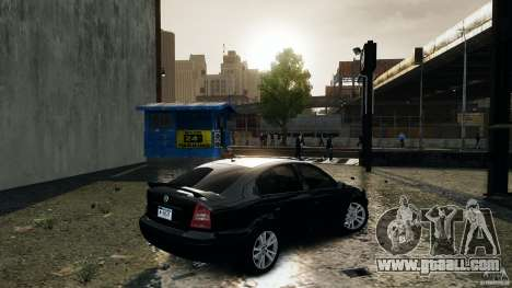Skoda Octavia v.1.0 for GTA 4 back left view