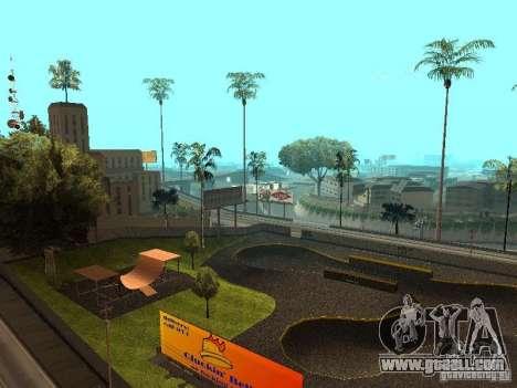 New SkatePark for GTA San Andreas second screenshot