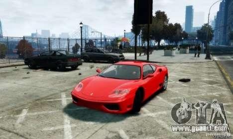 Ferrari 360 modena for GTA 4 left view