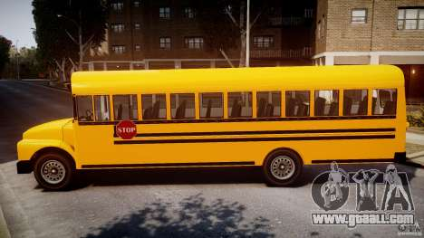 School Bus [Beta] for GTA 4 left view