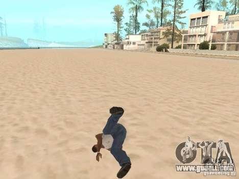 Parkour 40 mod for GTA San Andreas third screenshot