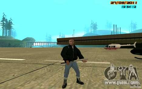 SkinHeads Pack for GTA San Andreas second screenshot