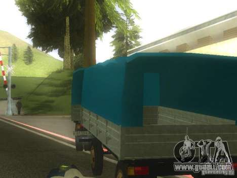 Gkb-8536 trailer for GTA San Andreas left view