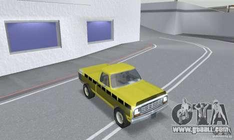 Dodge Prospector 1984 for GTA San Andreas inner view