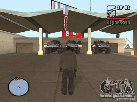 Off-road Route v2.0 for GTA San Andreas third screenshot