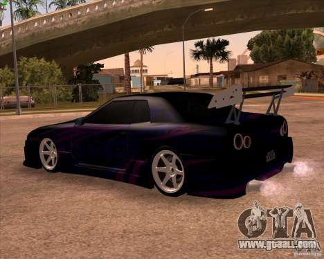Elegy 0.2 for GTA San Andreas side view
