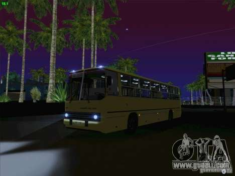 IKARUS 260 Latvia for GTA San Andreas inner view
