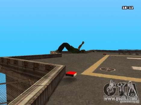Parkour Mod for GTA San Andreas eleventh screenshot