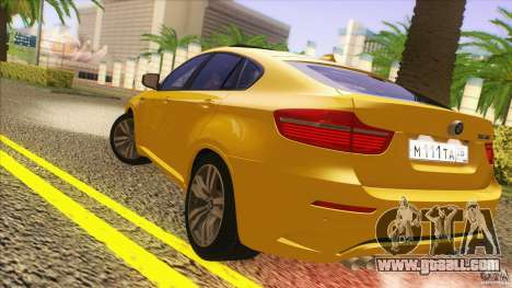 BMW X6M E71 v2 for GTA San Andreas right view
