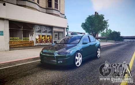 Mitsubishi Lancer Evo X Drift for GTA 4