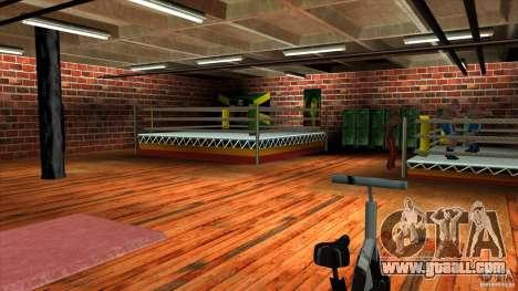 Gym for GTA San Andreas third screenshot