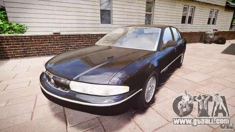 Chrysler New Yorker LHS 1994 for GTA 4