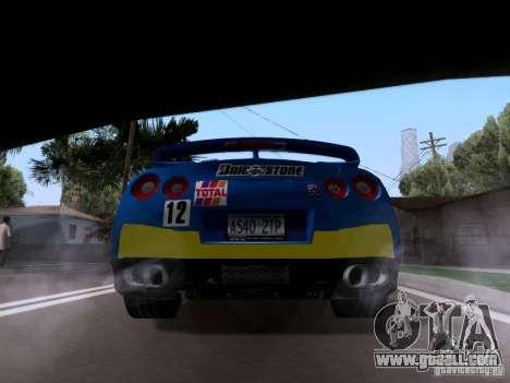 Nissan GTR 2010 Spec-V for GTA San Andreas left view