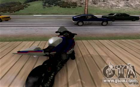 BMW S1000 RR for GTA San Andreas back view