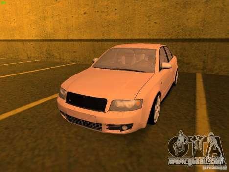 Audi S4 OEM for GTA San Andreas