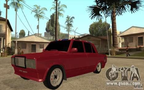 VAZ 2107 Hobo v. 2 for GTA San Andreas