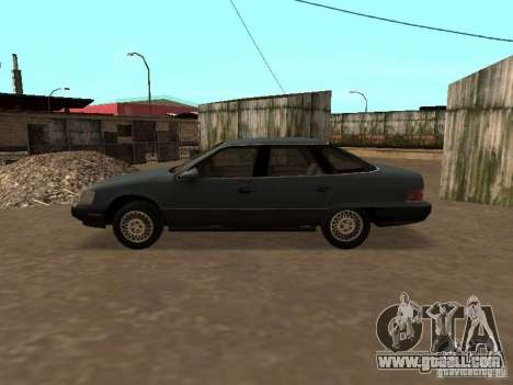 Mercury Sable GS 1989 for GTA San Andreas back left view