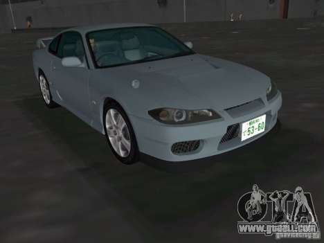 Nissan Silvia spec R Light Tuned for GTA Vice City right view
