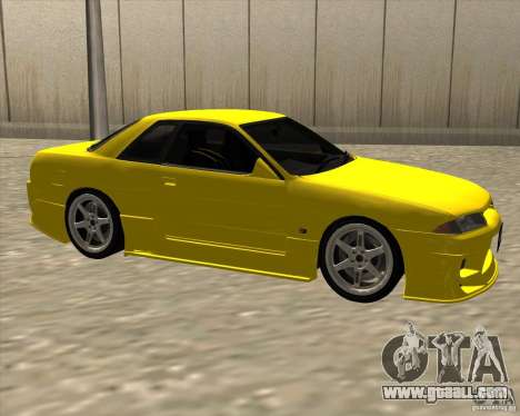 Nissan Skyline R32 Bee R for GTA San Andreas right view